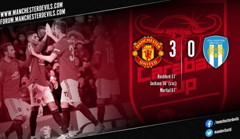 Report : Manchester United 3-0 Colchester United