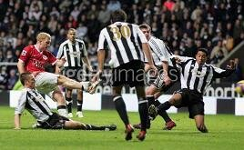 Report : Newcastle 2-2 Man U