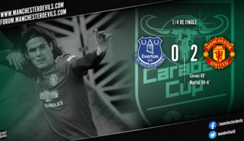 Everton 0-2 Manchester United : le dernier carré pour les Red Devils