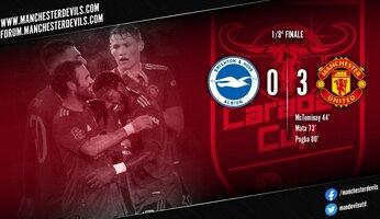 Brighton 0-3 Manchester United : cette fois, pas de débat