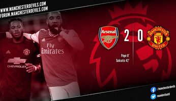 Report : Arsenal 2-0 Manchester United