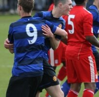 Mickael Keane avec l'Angleterre U19