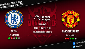 Preview : Chelsea - Manchester United