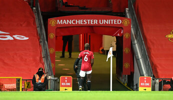 Pogba absent plusieurs semaines