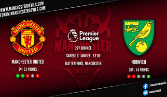 Preview : Manchester United - Norwich City