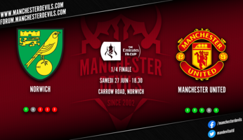 Preview : Norwich City - Manchester United