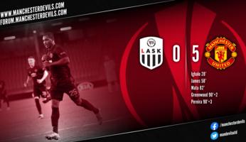 LASK 0-5 Manchester United : United dézingue le LASK