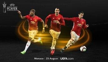 Un Red Devil meilleur joueur de l'Europa League 2016-2017