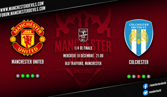 Preview : Manchester United  - Colchester United