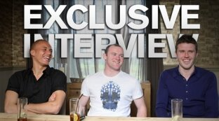 Interview : Carrick, Rooney et Brown