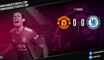 Manchester United 0-0 Chelsea : il y avait de la place