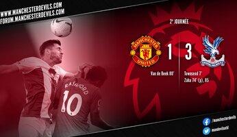 Manchester United 1-3 Crystal Palace : United ne sort pas du piège de cristal