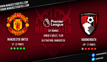 Preview : Manchester United - Bournemouth