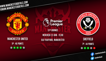 Preview : Manchester United - Sheffield United