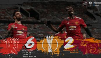 Manchester United 6-2 AS Roma : un grand pas vers la finale !