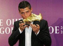 Ronaldo soulier d'or 2008
