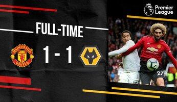 Man Utd 1 Wolverhampton 1 : United cale face au promu