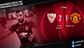 FC Séville 2-1 Manchester United : désillusion pour les Red Devils