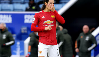Cavani suspendu trois matchs par la FA