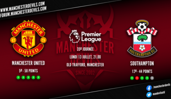 Preview : Manchester United - Southampton