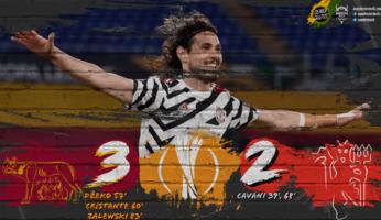 AS Roma 3-2 Manchester United : United s'extirpe des griffes de la Louve