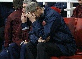Arsenal s'effondre