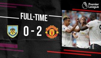 Burnley 0 Manchester United 2 : retour aux choses sérieuses