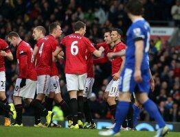 Report : United 2 Everton 0