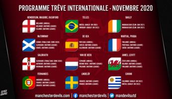 Sélections : seize Red Devils en lice, deux qualifications pour l'Euro en ligne de mire