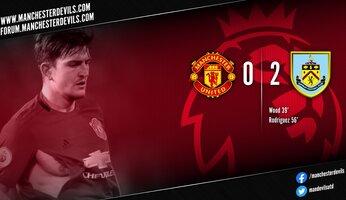 Manchester United 0-2 Burnley : au fond du trou