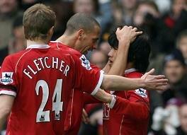Report : United 2 Charlton 0