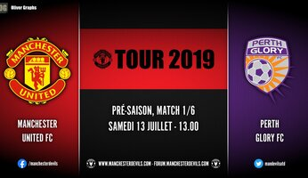 Live : Perth Glory vs Manchester United!