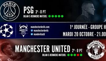 Preview : Paris SG - Manchester United
