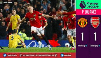 Man Utd 1 Arsenal 1 : on s'ennuie ferme