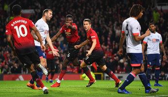 Man Utd 4 Bournemouth 1 : United croque la cerise