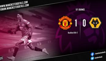 Manchester United 1-0 Wolverhampton : les Red Devils au buzzer