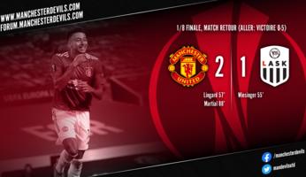 Manchester United 2-1 LASK : la victoire pour la forme