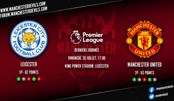 Preview : Leicester City - Manchester United