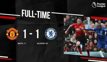 Man Utd 1 Chelsea 1 : le Top 4 s'éloigne... pour de bon?