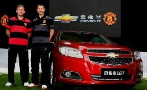 Chevrolet nouveau sponsor