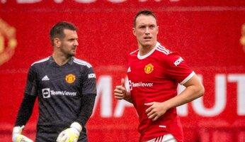 United remporte un match amical à huis clos face à Burnley