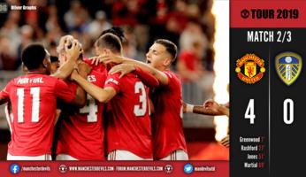 Leeds 0 Man Utd 4 : les Red Devils déroulent