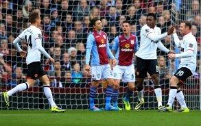 Report : Aston Villa 0 United 3