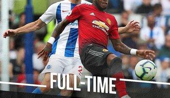 Brighton & Hove Albion 3 Manchester United 2 : un de chute pour MU