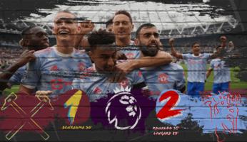 West Ham United 1-2 Manchester United : les Red Devils au bout du suspense !