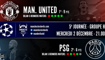 Preview : Manchester United - Paris SG