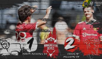 Derby County 1-2 Manchester United : un bon début