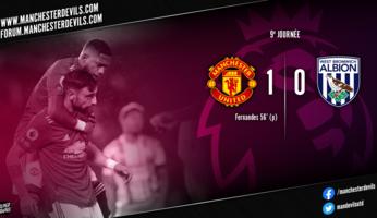Manchester United 1-0 West Bromwich Albion : la purge du samedi soir
