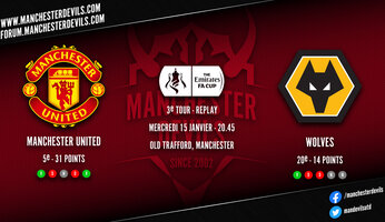 Preview : Manchester United - Wolverhampton