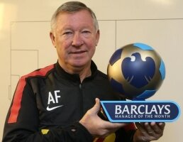 Sir Alex, manager du mois d'octobre